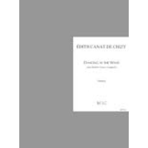 LEMOINE CANAT DE CHIZY E. - DANCING IN THE WIND - DOUBLE CHOEUR