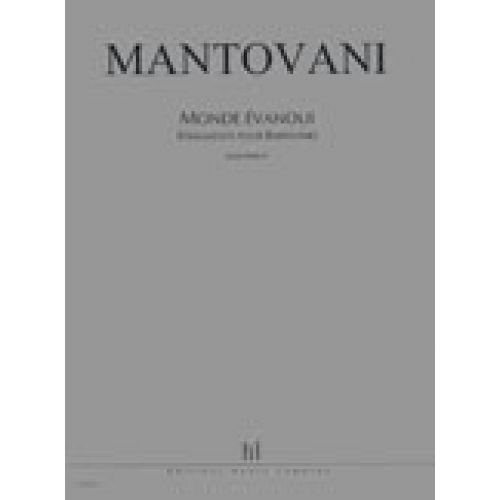 LEMOINE MANTOVANI BRUNO - MONDE EVANOUI (FRAGMENTS POUR BABYLONE) - CHOEUR