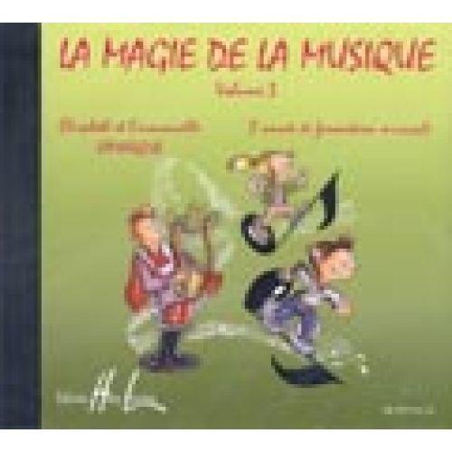 LEMOINE LAMARQUE ELISABETH & EMMANUELLE - LA MAGIE DE LA MUSIQUE VOL.3 - CD SEUL