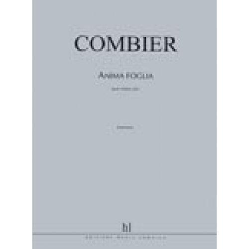 LEMOINE COMBIER JEROME - ANIMA FOGLIA - VIOLON