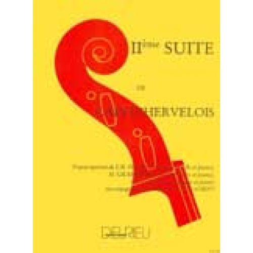 EDITION DELRIEU CAIX D'HERVELOIS LOUIS - SUITE N°2 - ALTO, PIANO