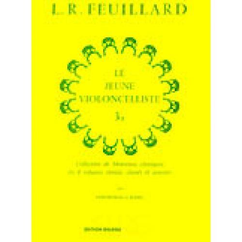 LEMOINE FEUILLARD LOUIS R. - JEUNE VIOLONCELLISTE (LE) VOL.3B