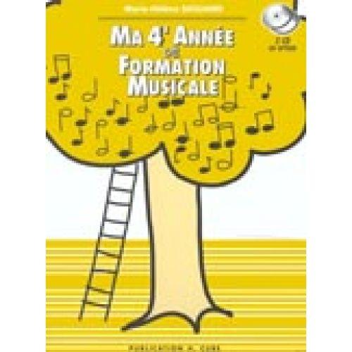 LEMOINE SICILIANO MARIE-HÉLÈNE - MA 4ÈME ANNÉE DE FORMATION MUSICALE