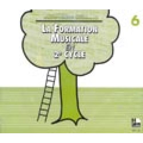 LEMOINE SICILIANO MARIE-HÉLÈNE - LA FORMATION MUSICALE VOL.6 - CD SEUL