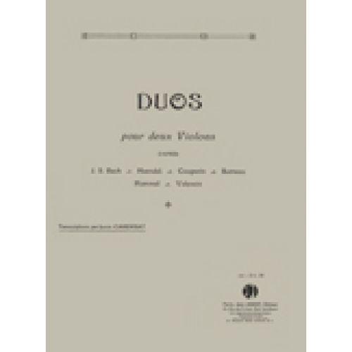 JOBERT CAREMBAT LOUIS - DUOS VOL.1 - 2 VIOLONS