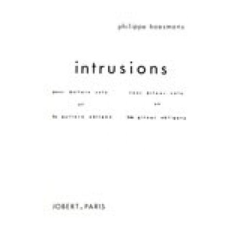 JOBERT BOESMANS PHILIPPE - INTRUSIONS - 2 GUITARES