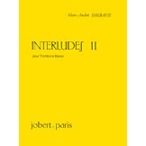 JOBERT DALBAVIE MARC-ANDRÉ - INTERLUDES II - TROMBONE