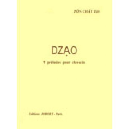JOBERT TON THAT TIET - DZAO - 9 PRELUDES - CLAVECIN