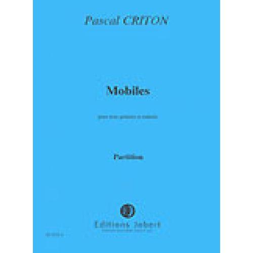JOBERT CRITON PASCALE - MOBILES - 3 GUITARES, TIMBALES
