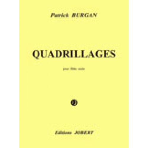 JOBERT BURGAN PATRICK - QUADRILLAGES - FLUTE