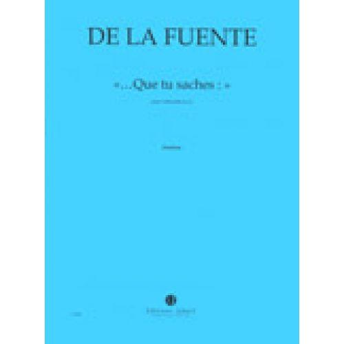 JOBERT LA FUENTE B. (DE) -