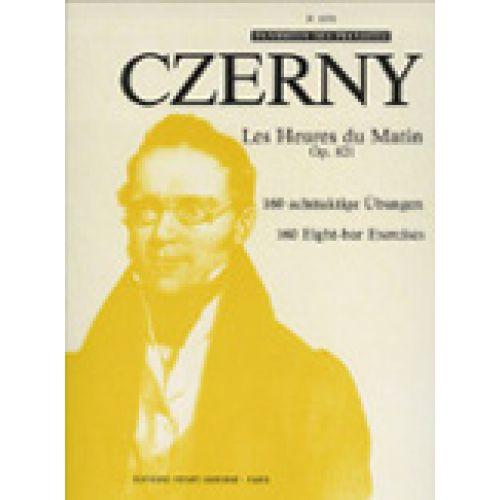 LEMOINE CZERNY CARL - LES HEURES DU MATIN OP.821 - PIANO