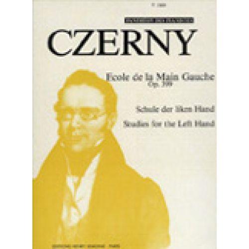LEMOINE CZERNY CARL - ECOLE DE LA MAIN GAUCHE OP.399 - PIANO