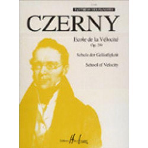 LEMOINE CZERNY CARL - ECOLE DE LA VÉLOCITÉ OP.299 - PIANO