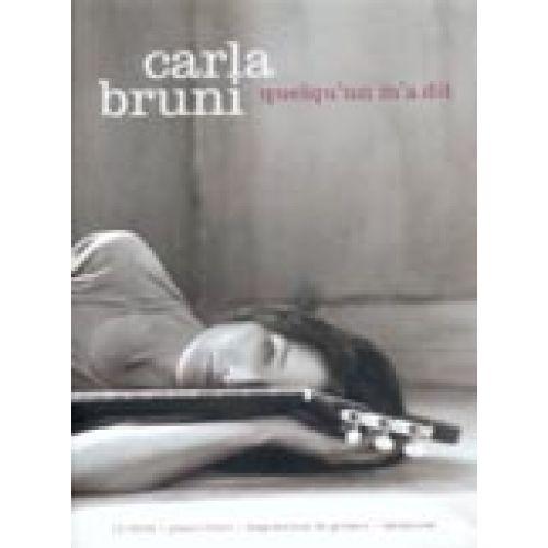 BOOKMAKERS INTERNATIONAL BRUNI CARLA - QUELQU'UN M'A DIT - PVG