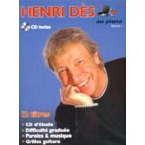 PAUL BEUSCHER PUBLICATIONS DES HENRI - AU PIANO VOL.1 + CD - PVG