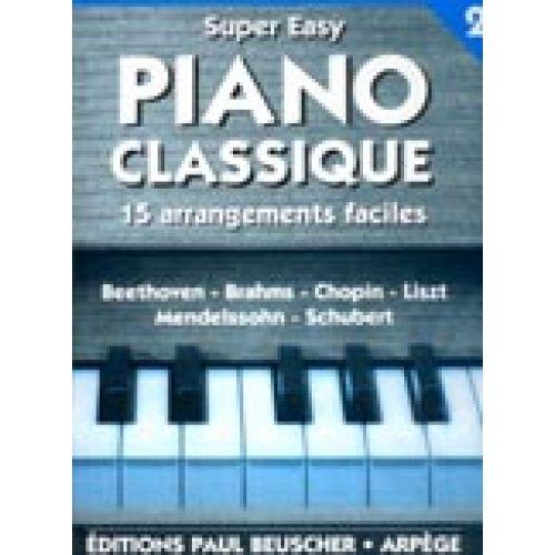 PAUL BEUSCHER PUBLICATIONS SUPER EASY PIANO N°2