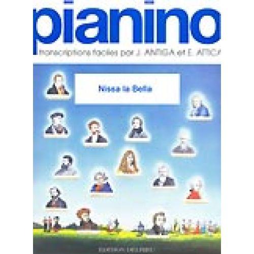 EDITION DELRIEU RONDELLY MENICA - NISSA LA BELLA - PIANINO 101 - PIANO