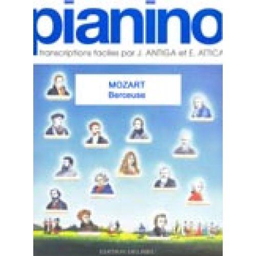 EDITION DELRIEU MOZART W.A. - BERCEUSE - PIANINO 13 - PIANO