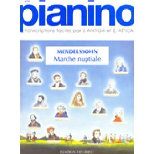 EDITION DELRIEU MENDELSSOHN F. - MARCHE NUPTIALE - PIANINO 62 - PIANO