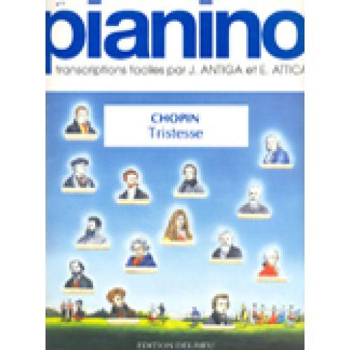 Etude 3 Tristesse Chopin: Woodbrass N°1 Français