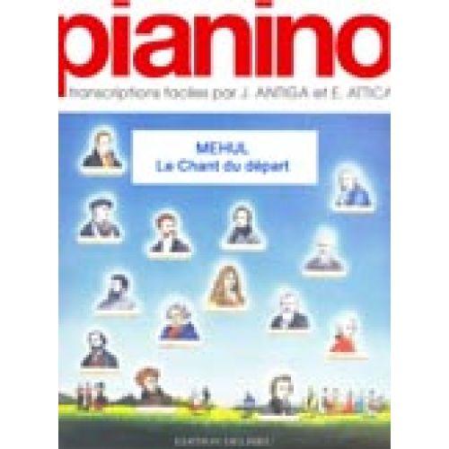 EDITION DELRIEU MEHUL ETIENNE-NICOLAS - LE CHANT DU DEPART - PIANINO 89 - PIANO
