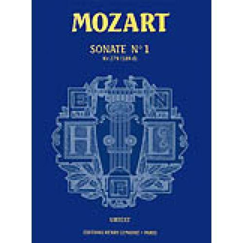 LEMOINE MOZART W.A. - SONATE N° 1 KV279 - PIANO