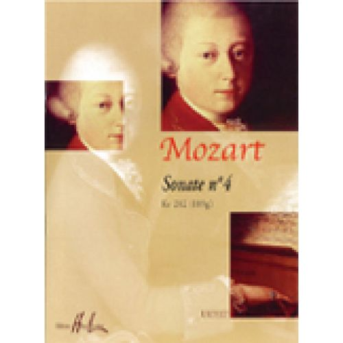 LEMOINE MOZART W.A. - SONATE N° 4 KV282 - PIANO