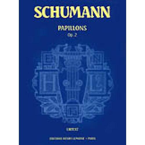 LEMOINE SCHUMANN R. - ARABESQUE OP.18 - PIANO