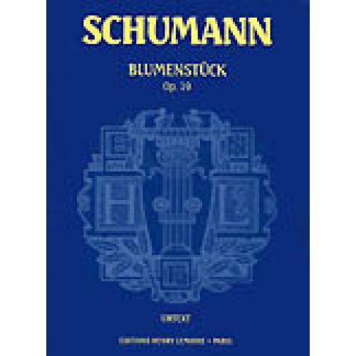 LEMOINE SCHUMANN R. - BLUMENSTUCK OP.19 - PIANO