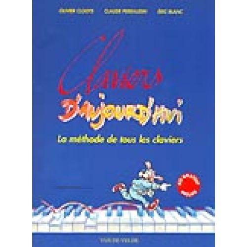 VAN DE VELDE CLOOTS OLIVIER - CLAVIERS D'AUJOURD'HUI + CD