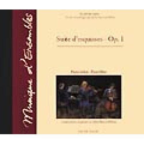 VAN DE VELDE MILLOW JOHN-PATRICK - SUITE D'ESQUISSE OP.1 - CD SEUL - FLUTE OU VIOLON, PIANO