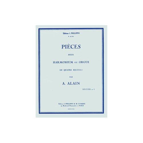 COMBRE ALAIN ALBERT - PIECES - 1. RECUEIL (20 PETITES PIECES) - ORGUE OU HARMONIUM