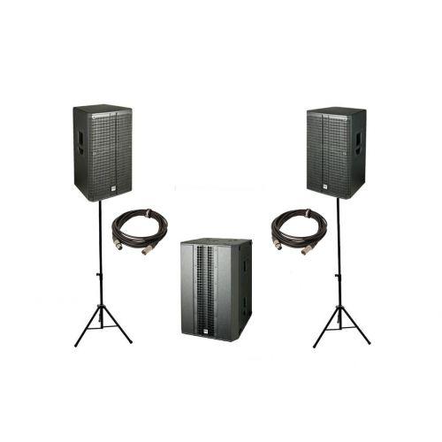 Actieve luidsprekers FOH (Front