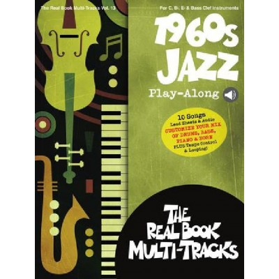 HAL LEONARD 1960S JAZZ PLAY-ALONG - REAL BOOK MULTI-TRACKS VOLUME 13