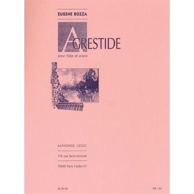 LEDUC BOZZA E. - AGRESTIDE OP.44 - FLUTE ET PIANO