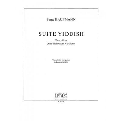LEDUC KAUFMANN - SUITE YIDDISH - VIOLONCELLE ET GUITARE