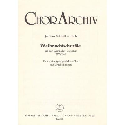 BARENREITER BACH J.S. - WEIHNACHTSCHORALE, AUS DEM WEIHNACHTS, ORATIUM BWV 248