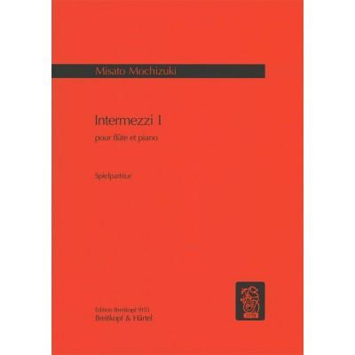 EDITION BREITKOPF MOCHIZUKI MISATO - INTERMEZZI I - FLUTE, PIANO