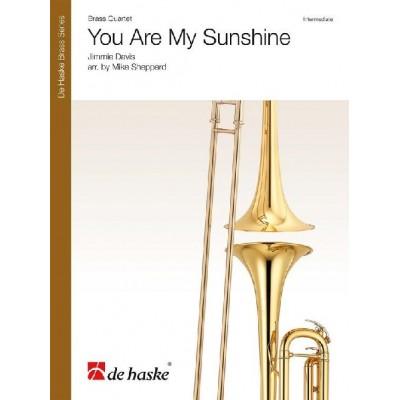 DEHASKE JIMMIE DAVIS - YOU ARE MY SUNSHINE - QUATUOR DE CUIVRES