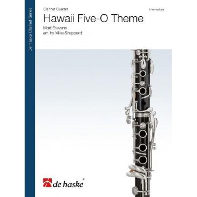 DEHASKE MORT STEVENS - HAWAII FIVE-O THEME - QUATUOR DE CLARINETTES