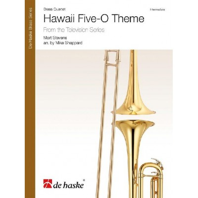 DEHASKE MORT STEVENS - HAWAII FIVE-O THEME - BRASS QUARTET