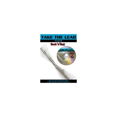 FABER MUSIC TAKE THE LEAD - ROCK 'N' ROLL + CD - FLUTE AND PIANO