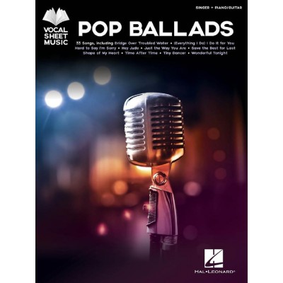 HAL LEONARD POP BALLADS