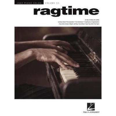 HAL LEONARD RAGTIME - PIANO - JAZZ PIANO SOLOS SERIES VOLUME 55