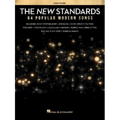 HAL LEONARD THE NEW STANDARDS - EASY PIANO