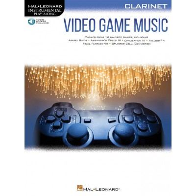 HAL LEONARD VIDEO GAME MUSIC FOR CLARINET