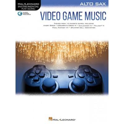 HAL LEONARD VIDEO GAME MUSIC FOR ALTO SAX