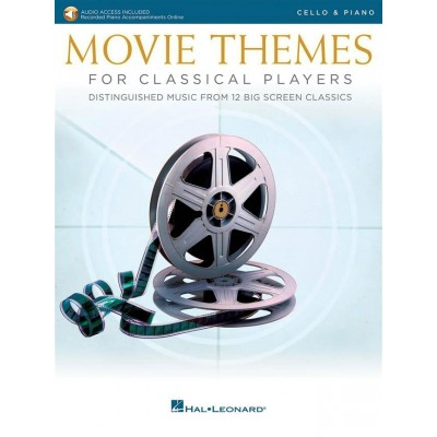 HAL LEONARD MOVIE THEMES FOR CLASSICAL PLAYERS-CELLO & PIANO
