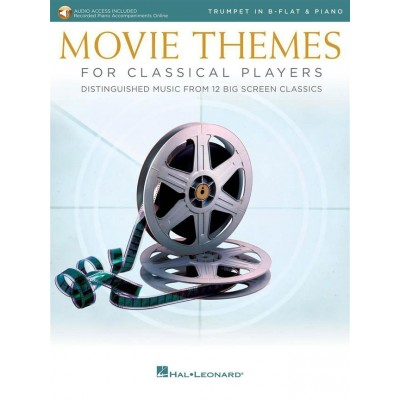 HAL LEONARD MOVIE THEMES FOR CLASSICAL PLAYERS-TRUMPET & PIANO